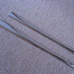 鉄扇の親骨 ステンレス製