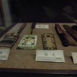 松江城に展示の鉄扇
